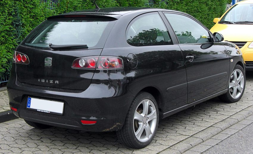 Seat Ibiza III Heckansicht Facelift