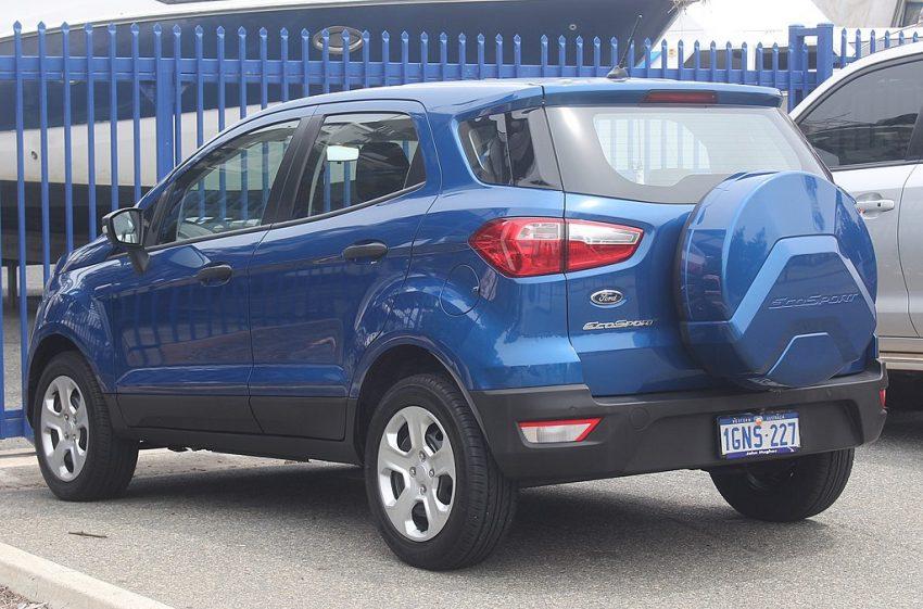Ford EcoSport Heckansicht